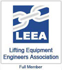 LEEA (Lifting Equipment Engineers Asscociation) Full Member